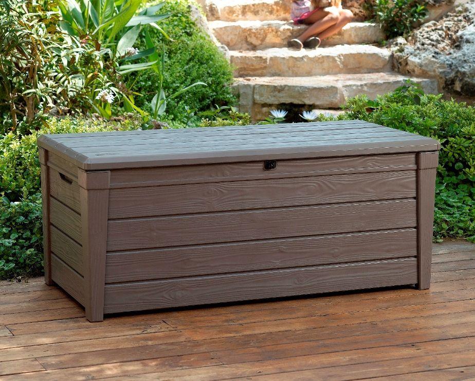 skrzynia z siedziskiem brightwood keter 17194454 aledyskont pl. Black Bedroom Furniture Sets. Home Design Ideas