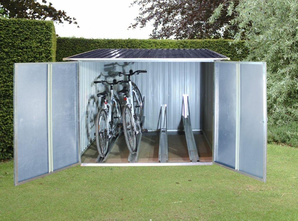 przechowalnia na rowery duramax 7164 aledyskont pl. Black Bedroom Furniture Sets. Home Design Ideas