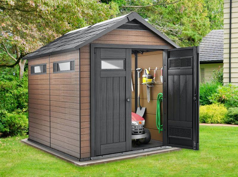 domek ogrodowy fusion 759 keter 17201218 aledyskont pl. Black Bedroom Furniture Sets. Home Design Ideas